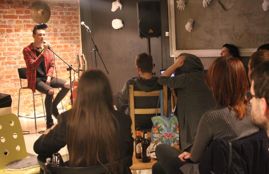 Open Stage - Ferment Szkoła Muzyki Rozrywkowej w Łodzi