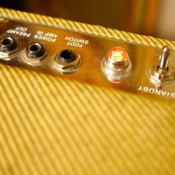Nowe nabytki na sali prób - piec Fender Blues Deluxe